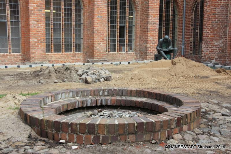 Das Stralsunder Johanniskloster Stand Der Arbeiten